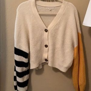 Urban Outfitters Buttoned Crop Cardigan